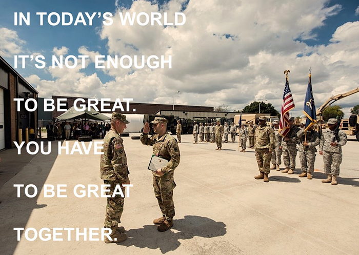 Army quote photo